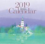 今成敏夫イラストカレンダー2019